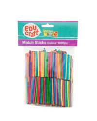 EDUCRAFT MATCH STICKS COLOUR JASCO PK1000