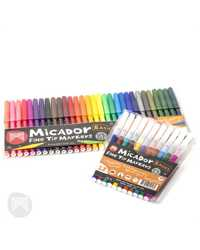 MARKER MICADOR FINE POINT ASSORTED PK12