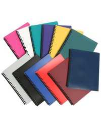 DISPLAY BOOK A4 MARBIG 40 PAGES REFILLABLE ASSORTED
