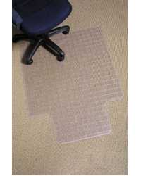 CHAIRMAT MARBIG DURA MAT GRID PATTERN 91x121CM CARPET LESS THAN