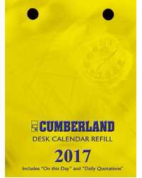 DESK CALENDAR 2019 REFILL CUMBERLAND TOP OPENING BUNCH OF DATES