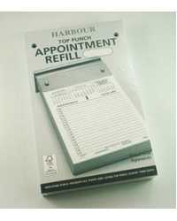 Diary Refill Harbour Appointment Top Punched Y2016
