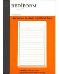 MULTI PURPOSE BOOK #RB203 REDIFORM 2PT CARBOLESS PK5