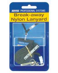 LANYARD KEVRON NYLON BREAK AWAY ID1018PP EACH