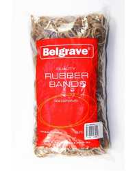 RUBBER BANDS BELGRAVE 500 GRAM NO.10