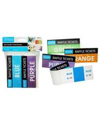 Check Tickets Raffle Books NO.1 To 100 Pack 4 Office Central