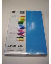 PAPER A4 QUILL XL MULTIPAPER ASSORTED BRIGHTS COLORS 80GSM PK250