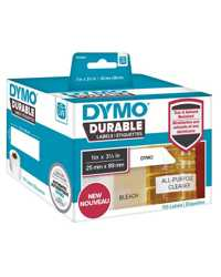 LABEL DYMO DURABLE 25MMX89MM LW450 SHIPPING WHITE ROLL 700