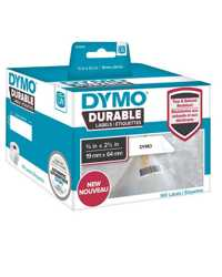 LABEL DYMO DURABLE 19MMX64MM LW450 SHIPPING WHITE ROLL 900