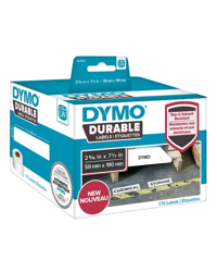 LABEL DYMO DURABLE 59MMX190MM LW450 SHIPPING WHITE ROLL 170