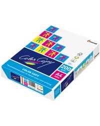 COPY PAPER COLOR COPY A4 GLOSS WHITE 200GSM PK250