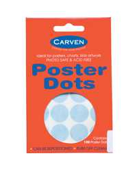 MAGIC DOTS CARVEN  (6 PACKS OF 100 DOTS)