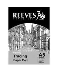 TRACING PAPER PAD REEVES A5 65GSM 25 SHT