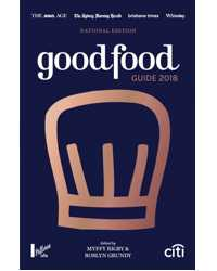 GOOD FOOD GUIDE 2018 NATIONAL EDITION