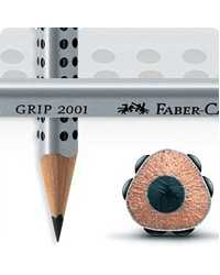 Each Faber-Castell Pencil Lead Faber Castell Junior Grip With Dots Hb Bx60
