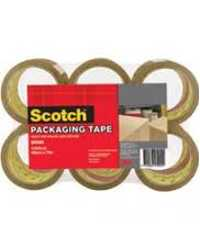 TAPE PACKAGING SCOTCH 370 48MMX75M BROWN PK6