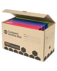 ARCHIVE BOX MARBIG ENVIRO COMPACT BROWN