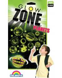 STICKERS GLOW ZONE PLANET ZONE