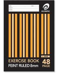 EXERCISE BOOK OLYMPIC A4 48PG PK20