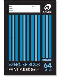 EXERCISE BOOK OLYMPIC A4 64PG PK20