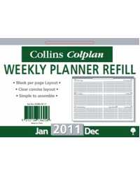 CALENDAR DESK REFILL COLLINS DCRW-RF TO FIT (01105)