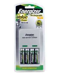 BATTERY CHARGER VALUE ENERGIZER FOR AA &AAA