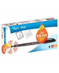 PEN PAPERMATE INKJOY 100ST WITH TOUCHSCREEN STYLUS 1.0MM BLACK B