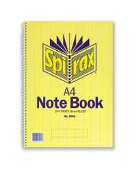 NOTEBOOK SPIRAX A4 595A 240PG SRT12