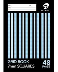 GRID BOOK OLYMPIC 7MM 48PG PK20