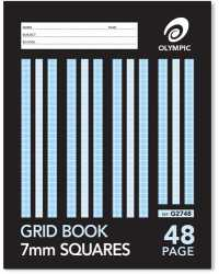 GRID BOOK OLYMPIC 10MM 48PG PK20