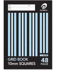 GRID BOOK OLYMPIC 5MM 96PG PK10