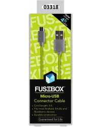 CABLE CHARGE & SYNC CABLE TO SUIT ANDROID MICRO-USB FUSEBOX 1.2