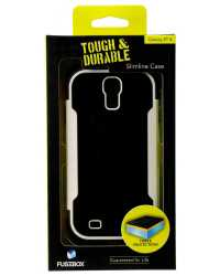 PHONE CASE RUGGEDIZED SHOCK FOR GALAXY S4 FUSEBOX SINGLE LAYER B