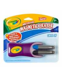 ERASER WHITEBOARD CRAYOLA MAGNETIC WITH 2 MARKERS