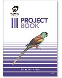 PROJECT BOOK OLYMPIC 523 UPRIGHT 24PG PK10