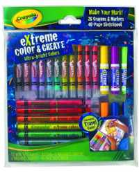 CRAYOLA EXTREME COLOR & CREATE SET