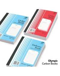 CARBON BOOK OLYMPIC 602 DUP A4 100LF PK5