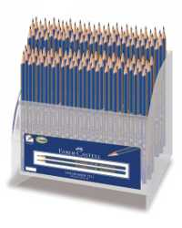 PENCILS FABER-CASTELL 1221 HB & 2B GOLDFABER DISPLAY 120