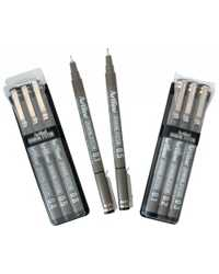 PEN ARTLINE DRAWING SYSTEM 233 0.3MM BLACK BX12