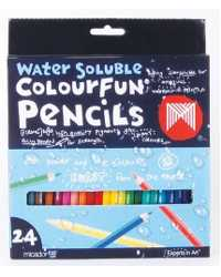 PENCIL COLOURED MICADOR COLOURFUN WATER/SOL BX24