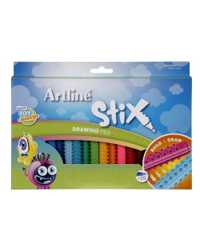 PEN DRAWING ARTLINE STIX PACK 20 ASSORTED COLOURS