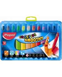CRAYON MAPED COLOR'PEPS SMOOTHY 12'S