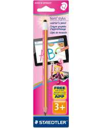 PENCIL STAEDTLER JUMBO LEARNER WITH STYLUS PINK