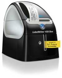 LABEL MAKER DYMO LABELWRITER LW450 DUO