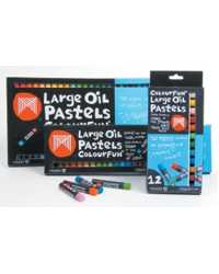 CRAYONS MICADOR OIL PASTELS LARGE 12\'S
