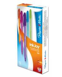 PEN INKJOY 100 FASHION 1.0MM ASSORTED COLOURS BX12
