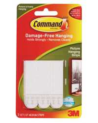 PICTURE HANGING STRIP COMMAND MED ADHESIVE 17201
