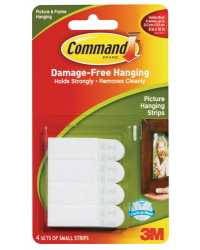 PICTURE HANGING STRIP COMMAND SMALL ADHESIVE 17202