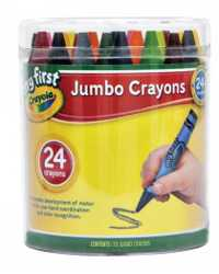 CRAYONS CRAYOLA MY FIRST 24 IN STORAGE TUB