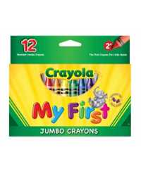 CRAYONS CRAYOLA MY FIRST GIANT 12'S
